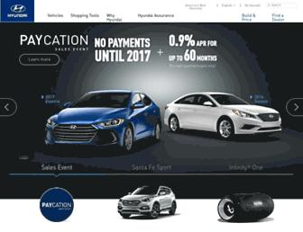 hyundaiusa.com screenshot