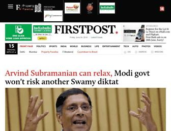 Thumbshot of Firstpost.com
