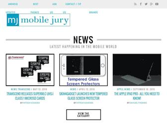 Thumbshot of Mobilejury.com