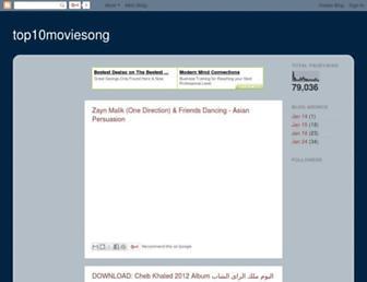 top10moviesong.blogspot.com screenshot