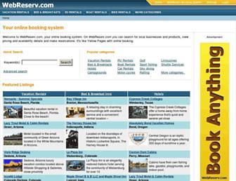 Thumbshot of Webreserv.com