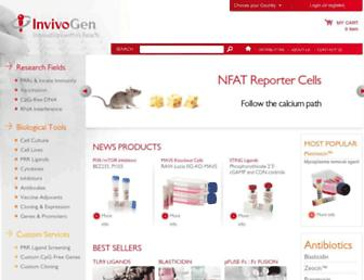 Thumbshot of Invivogen.com