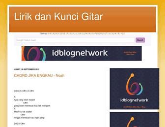 lirik-lagu-kunci-chord-gitar.blogspot.com screenshot