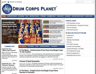 Thumbshot of Drumcorpsplanet.com