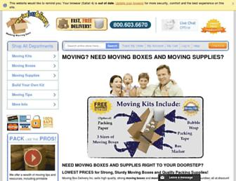 movingboxdelivery.com screenshot