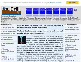 ondrill.ro screenshot