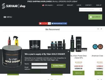 slikhaarshop.com screenshot
