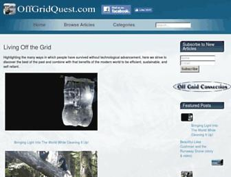 Thumbshot of Offgridquest.com