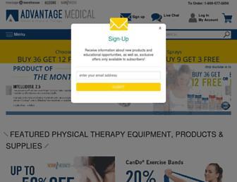 advantagemedical.com screenshot