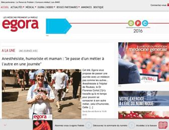 egora.fr screenshot