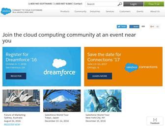 Thumbshot of Cloudforce.com