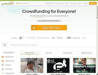 gofundme.com screenshot