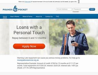 Thumbshot of Poundstopocket.co.uk