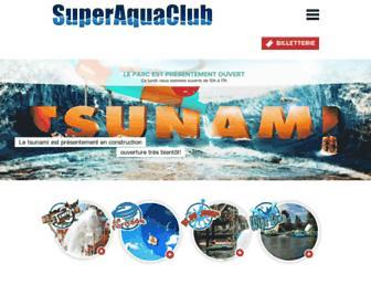 superaquaclub.com screenshot