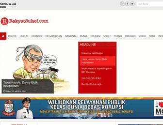 rakyatsulsel.com screenshot