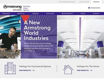 armstrongceilings.com screenshot