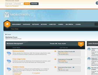 mobilarian.com screenshot