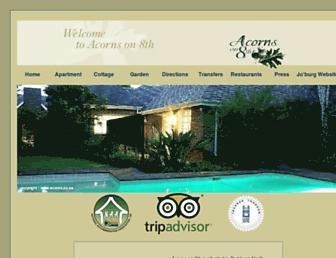 Thumbshot of Acorns.co.za