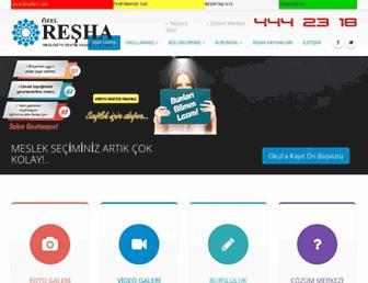 reshasaglikmesleklisesi.com screenshot