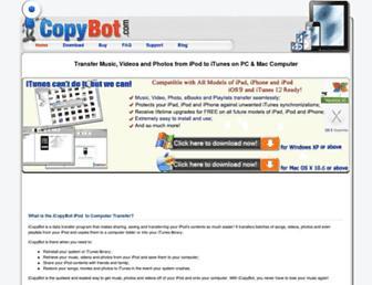icopybot.com screenshot