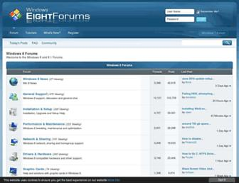 Thumbshot of Eightforums.com
