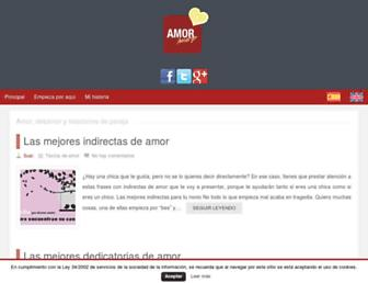 amoramargo.com screenshot