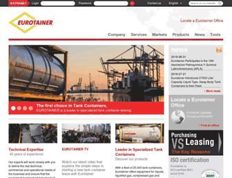 eurotainer.com screenshot