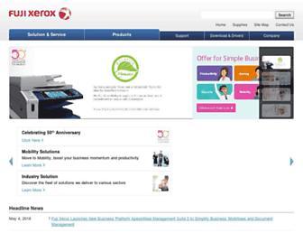 fujixerox.com.my screenshot