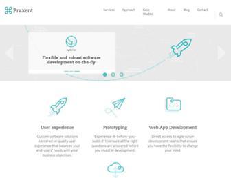 praxent.com screenshot
