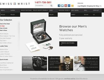 swiss-wrist.com screenshot