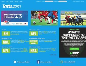 Thumbshot of Tatts.com.au