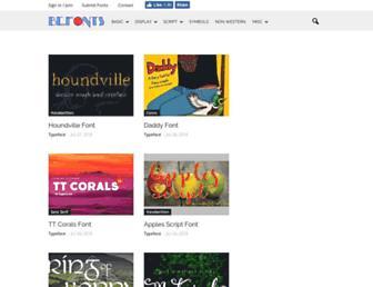 befonts.com screenshot