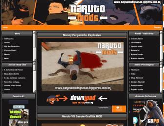 modsnaruto.blogspot.com screenshot