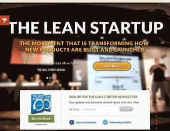 Thumbshot of Theleanstartup.com