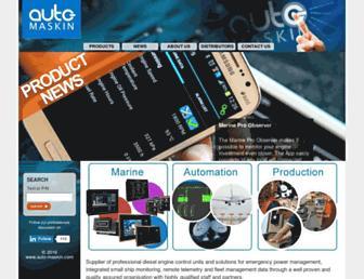 auto-maskin.com screenshot
