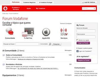 forum.vodafone.pt screenshot
