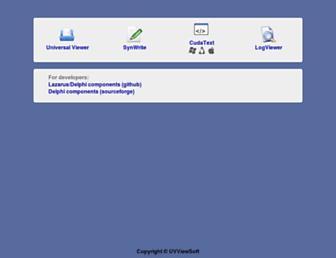 uvviewsoft.com screenshot