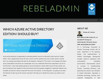 rebeladmin.com screenshot