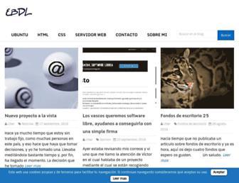 elblogdeliher.com screenshot