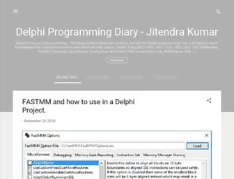 delphiprogrammingdiary.blogspot.com screenshot