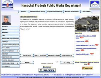 hppwd.gov.in screenshot
