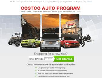 costcoauto.com screenshot