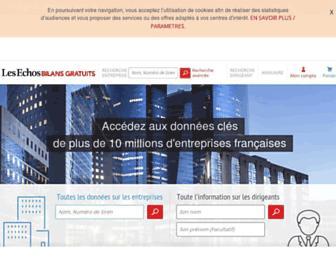 bilansgratuits.fr screenshot
