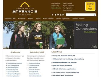 Thumbshot of Stfrancis.edu