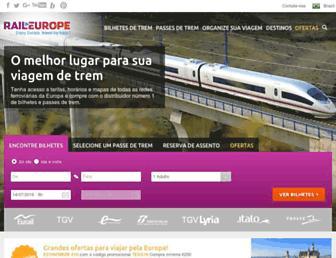 Thumbshot of Raileurope.com.br