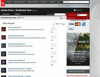shop.adobe.com screenshot