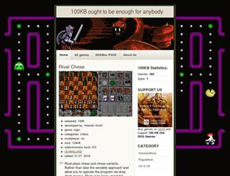 100kb-games.heroes3wog.net screenshot