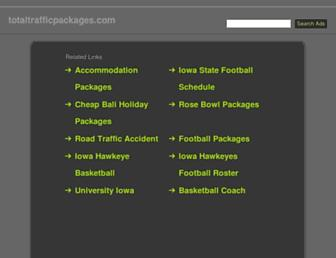 Thumbshot of Totaltrafficpackages.com