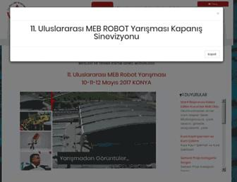 robot.meb.gov.tr screenshot