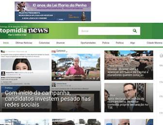 topmidianews.com.br screenshot